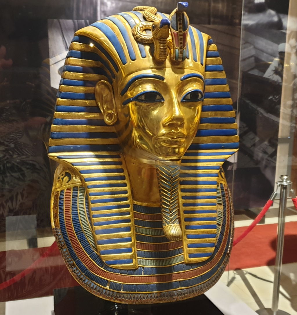 Notorious mask of King Tut