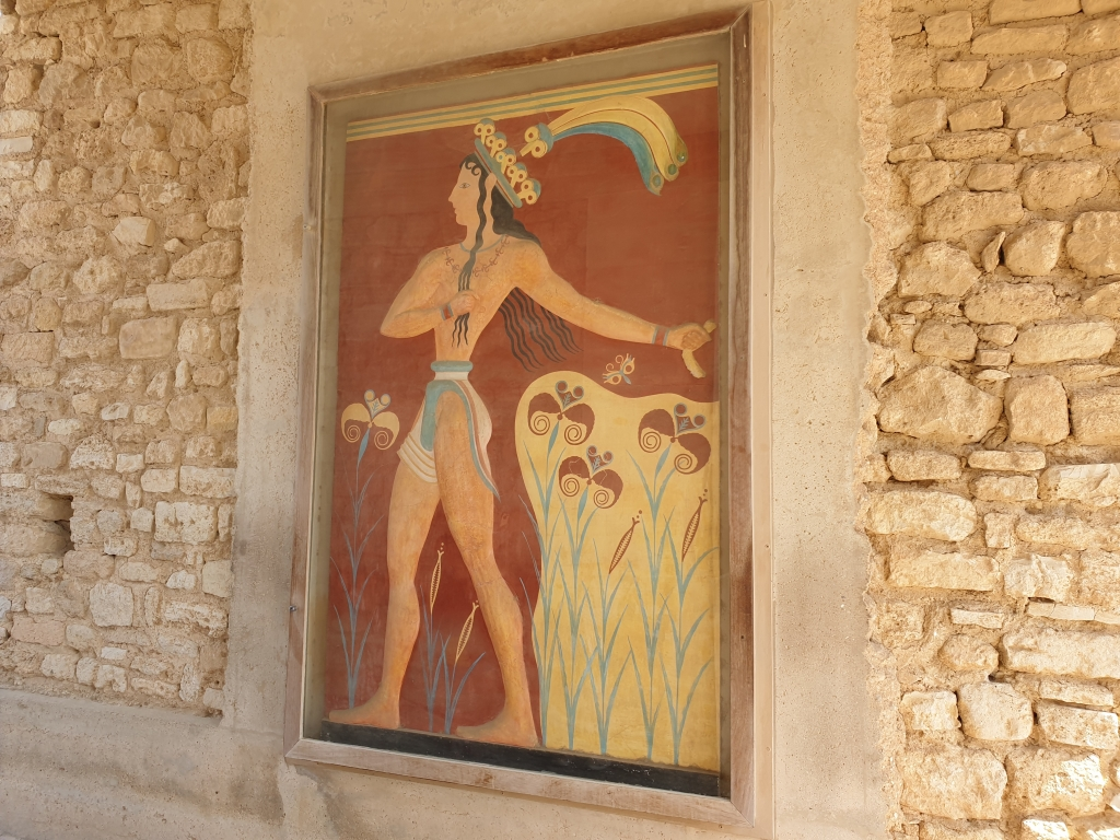 A young athlete of the Minoans