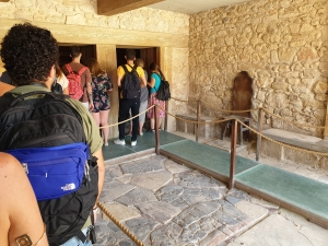 The Throne room of Knossos