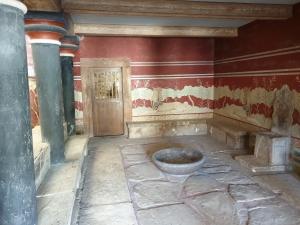 Knossos Palace Throne Room