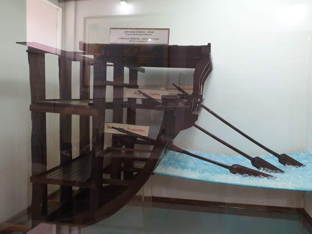 How a Hellenic trireme worked