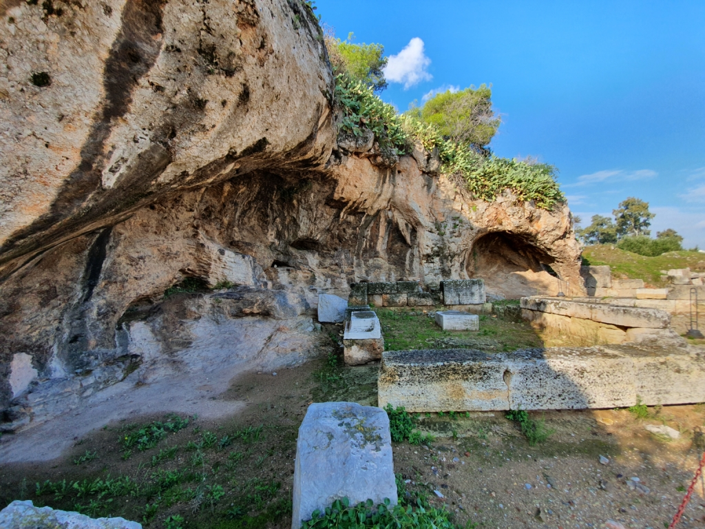 Elefsina, Greece - where Hades abducted Persephone