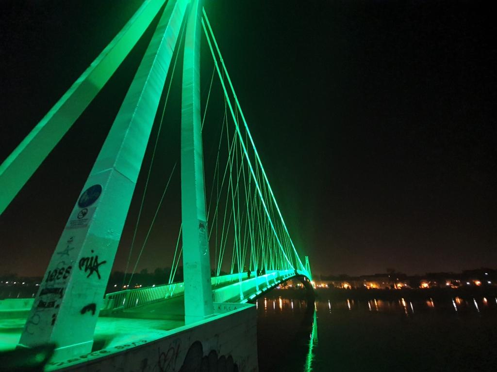 Night on Drava River