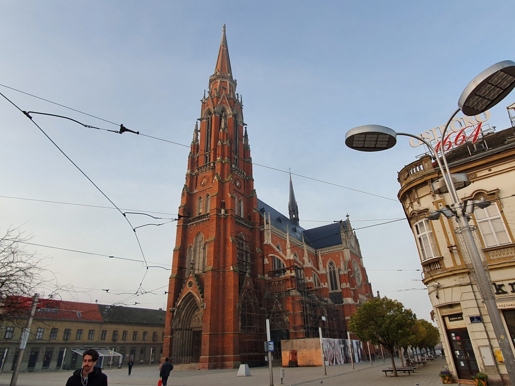 Osijek Co-Cathedral, the pride of the town