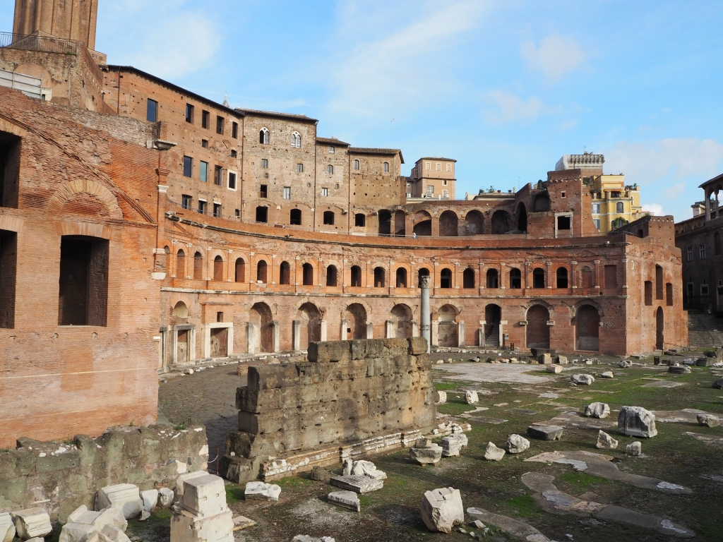 One of the other Forums in Rome - that of Trajan