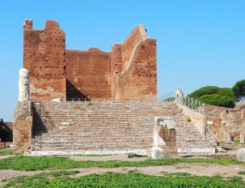 The sea gate of Rome