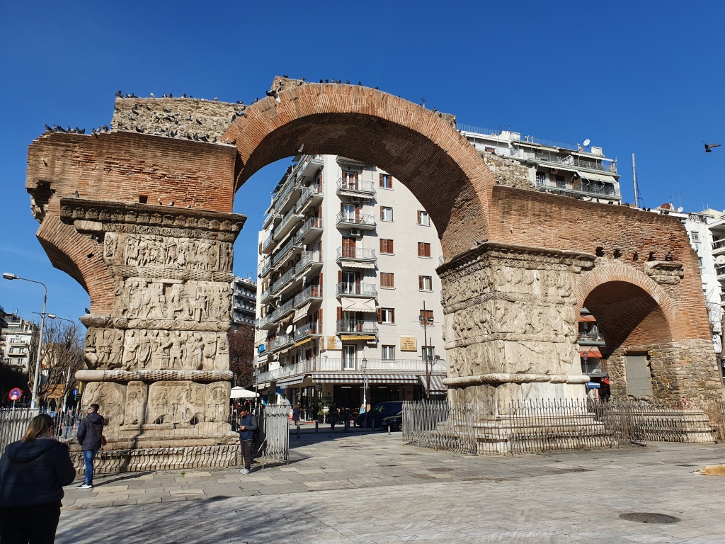 What to see in Thessaloniki: Galerius's Arch