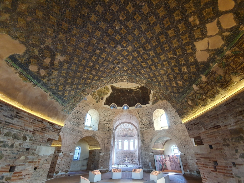 Thessaloniki Rotunda from the inside