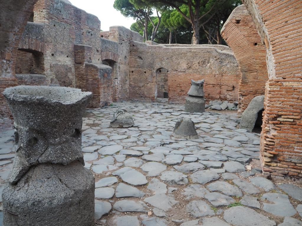 Visit Ostia Antica's biggest 'industrial' mill-house