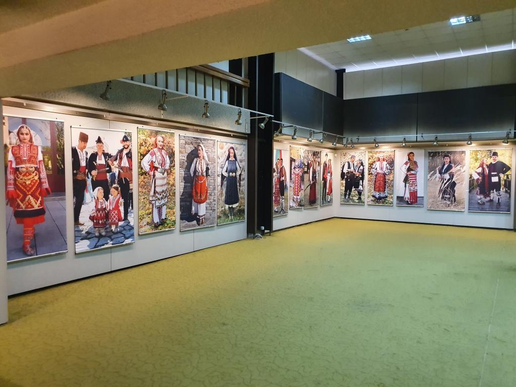 Exhibition of traditional Bulgarian costumes at Blagoevgrad Museum