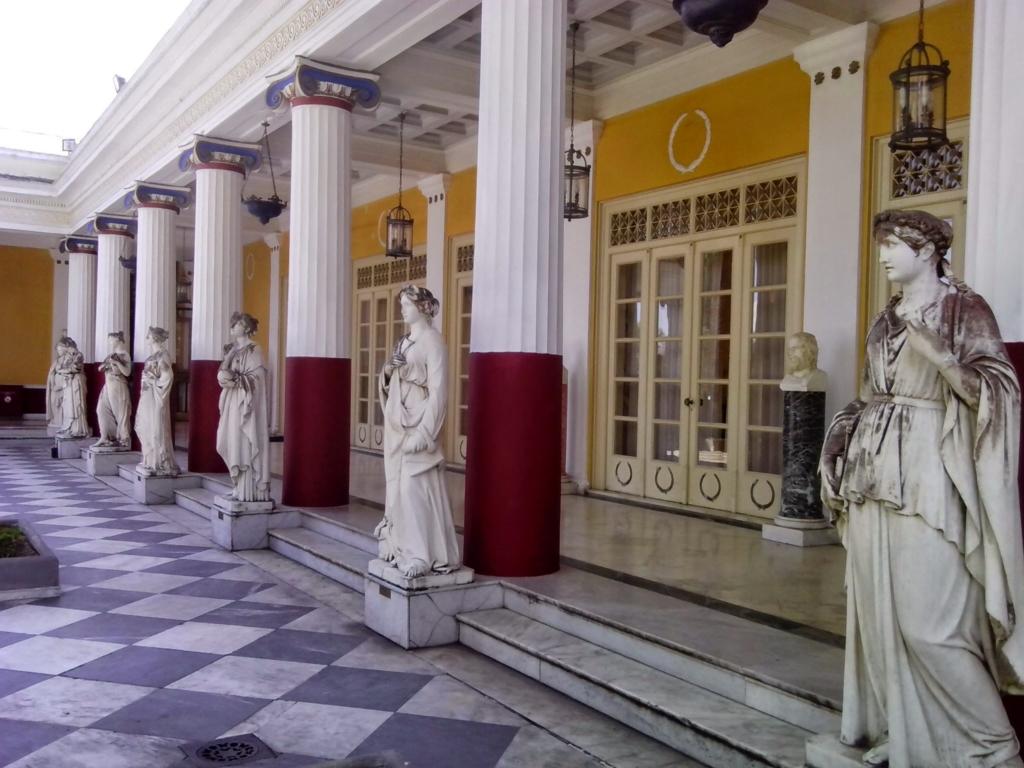 Palace of Empress Sissi, Corfu, Greece