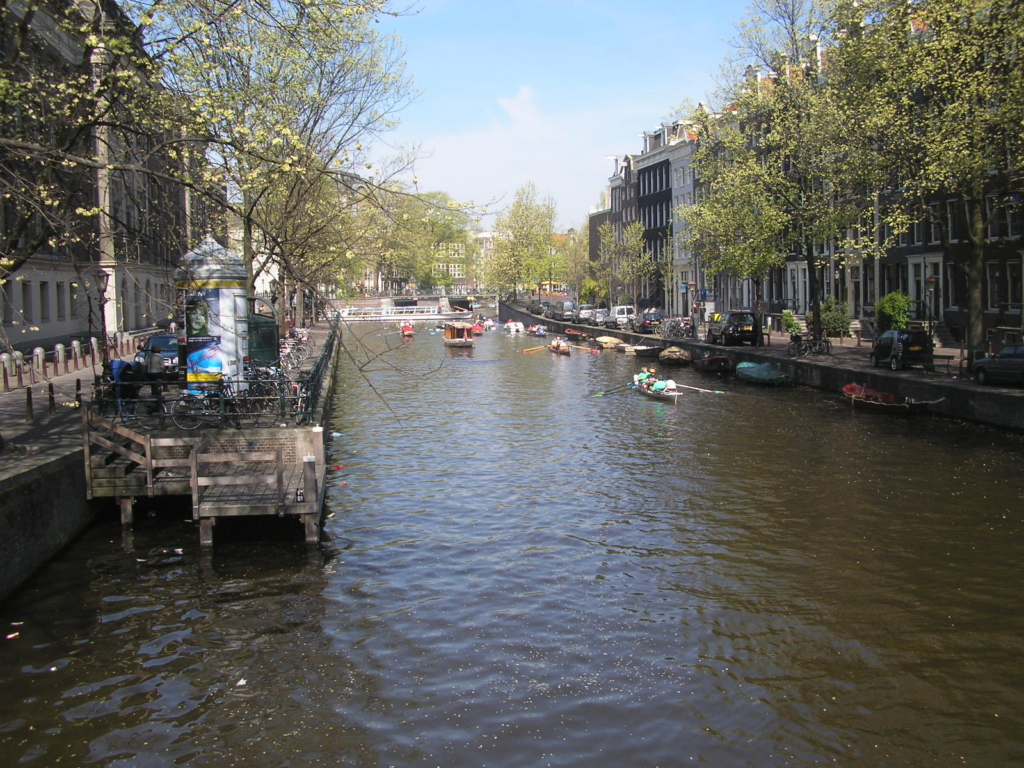 Various favourite destinations with 'A': Amsterdam