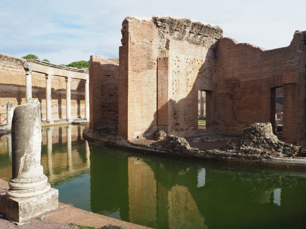 The private chamber of Emperor Hadrian