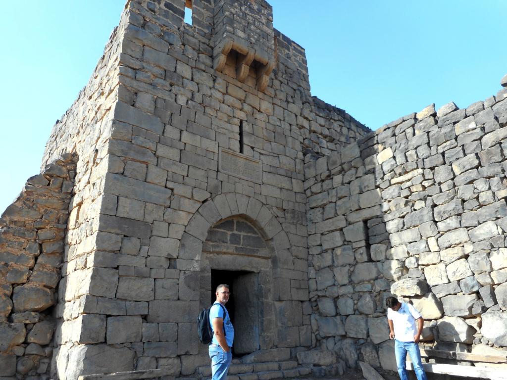 Входът към крепостта Ал-Азрак, Йордания