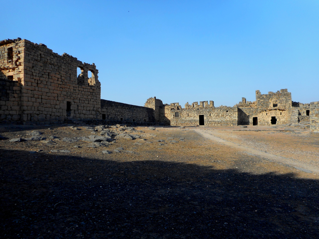 Inisde the Al-Azraq Fortress
