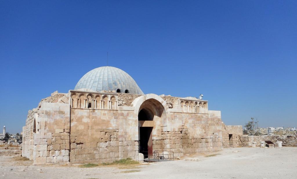 Amman Citadel - the Umayyad Palace