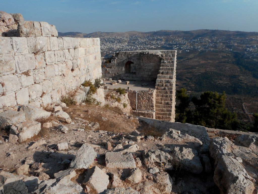 View from the castle of Ajloun, Jordan
