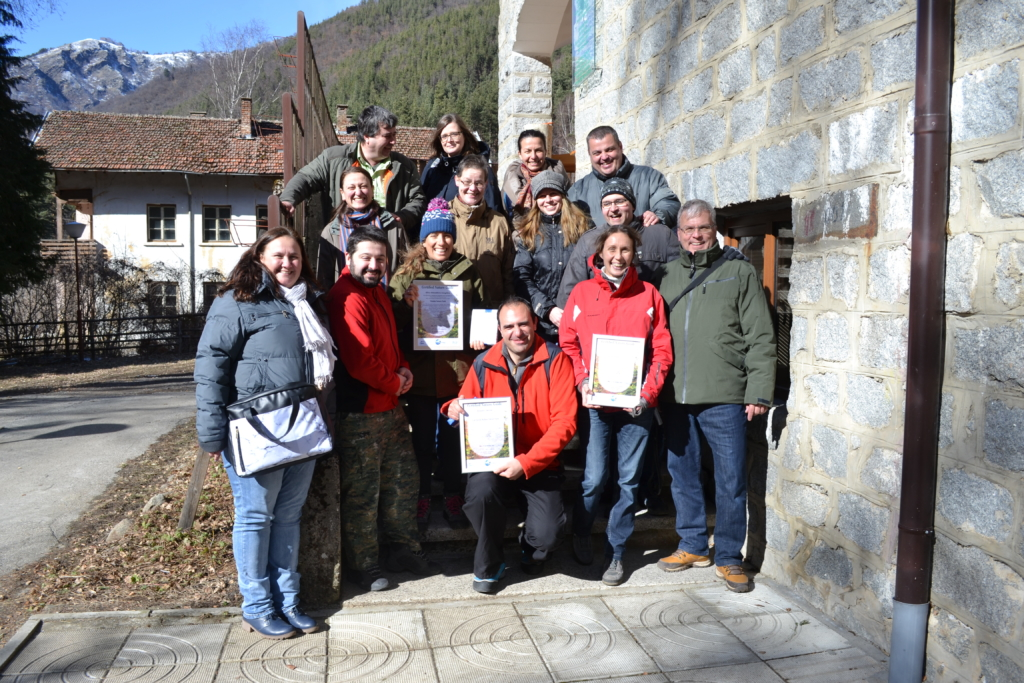 Training in sustainable toruism for nature guides