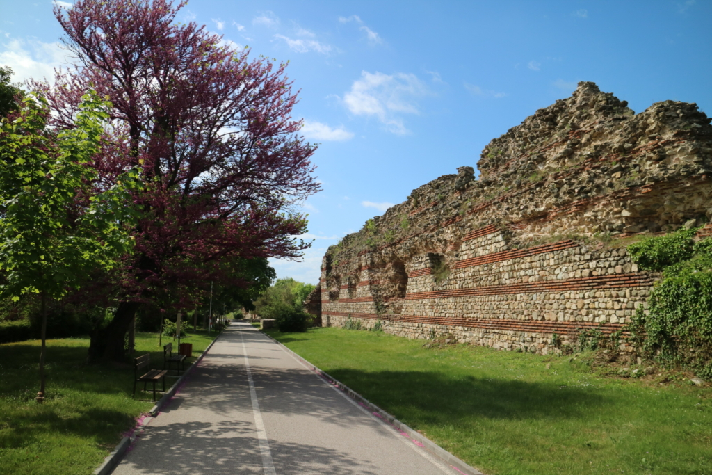 Hissar, the fortress wall