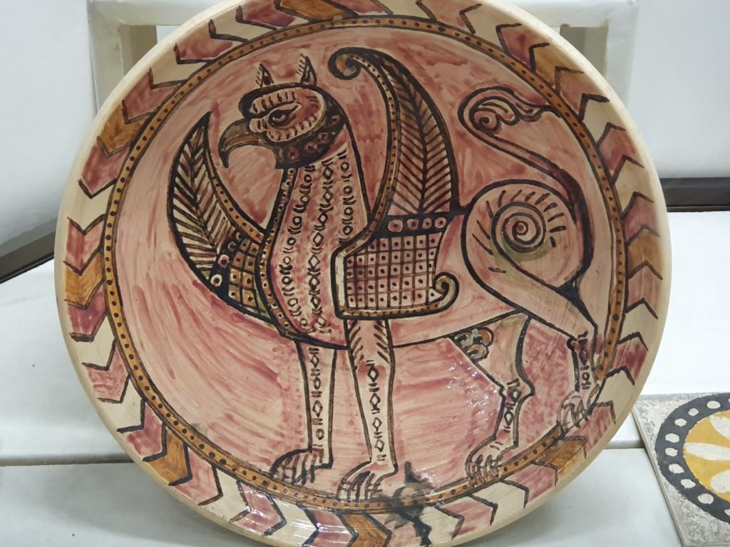 Painted ceramics, Preslav Medieval School of Art