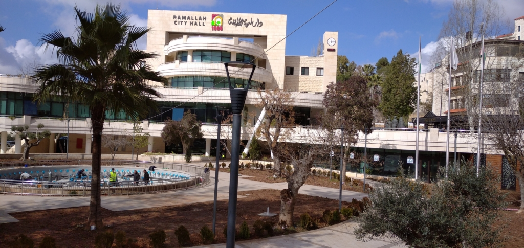 The center of Ramallah