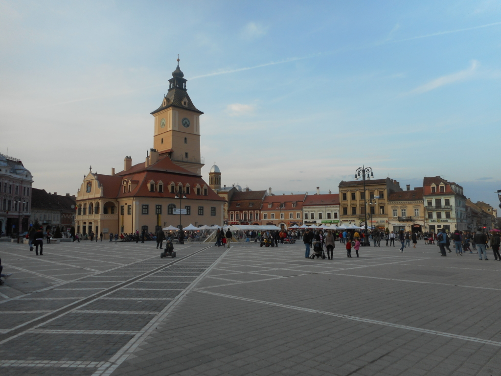 Places to visit with B on the Balkans: Brasov, Romania