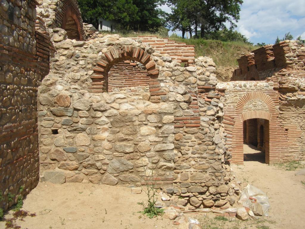 Roman baths, Bansko, North Macedonia