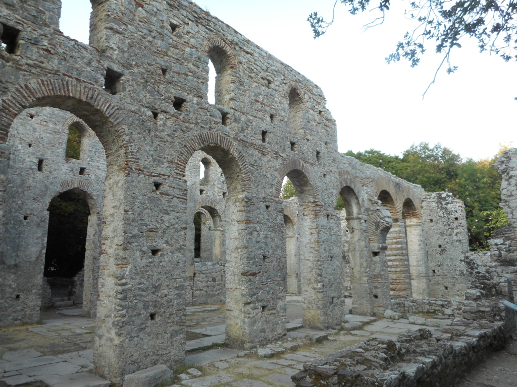 Places to visit with B on the Balkans: Butrint, Albania
