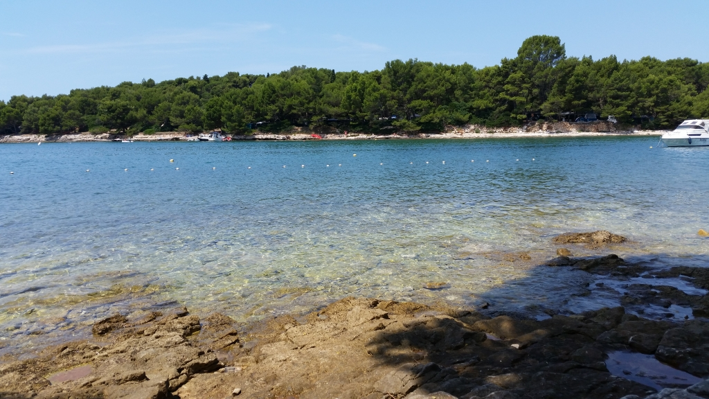 Nearby beaches on the Balkans - Indije Camping Site, Banjole, Croatia