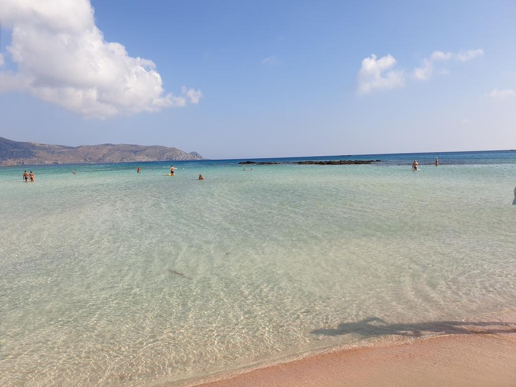 Beaches on the Balkans - Elafonisi, island of Crete, Greece
