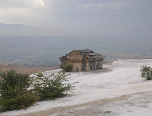 The Aegean coast of Turkey outside sea tourism