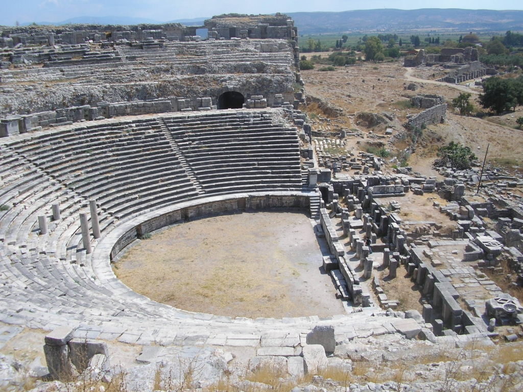 Aegean coast of Turkey - ancient city of Miletus