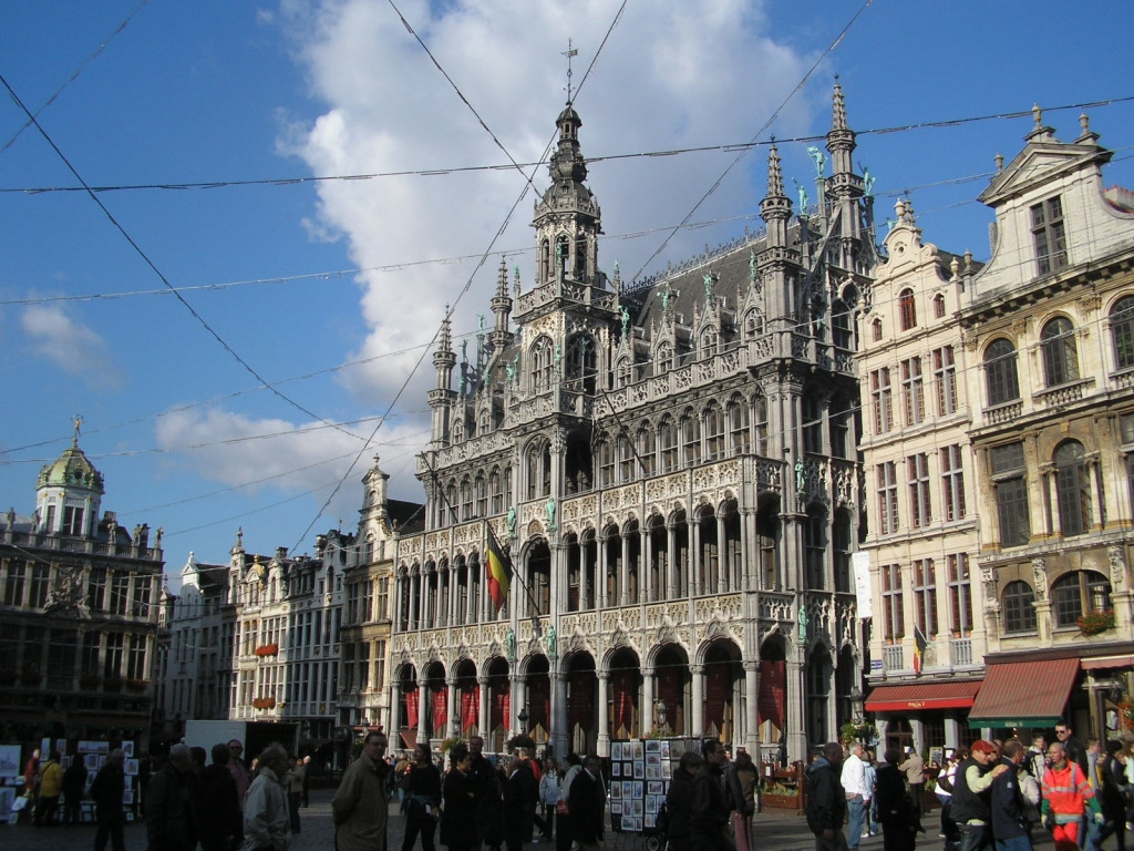 The center of Brussels, Flanders