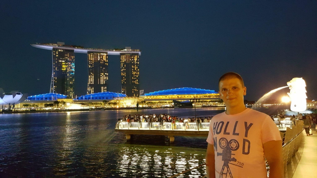 Ivan and his traveller profession in Singapore