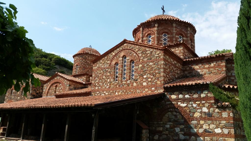 Monastery of St. Leontij, Vodocha, Macedonia