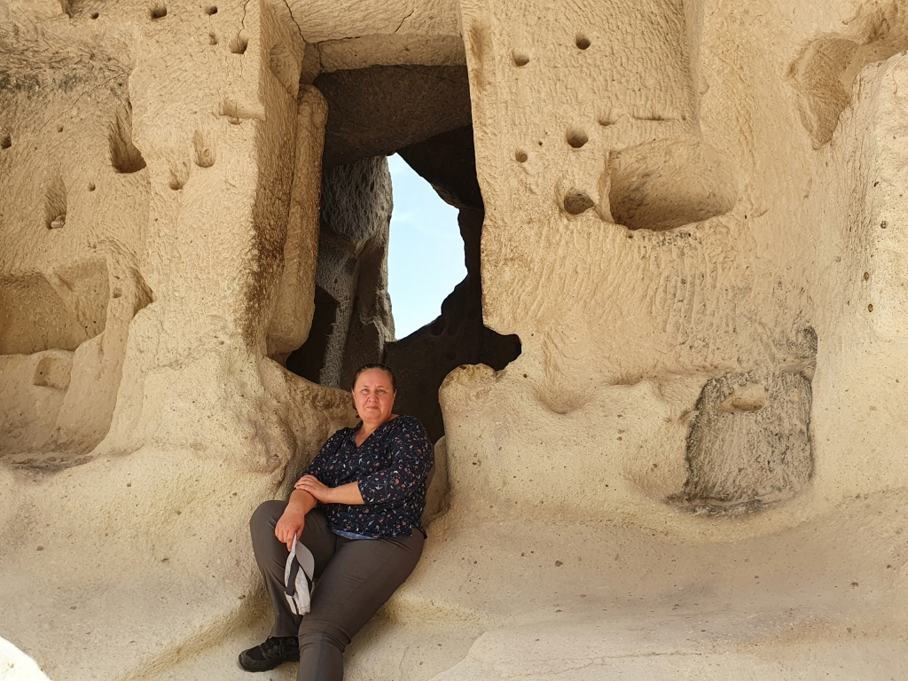 Under the Fairy Chimneys of Cappadocia