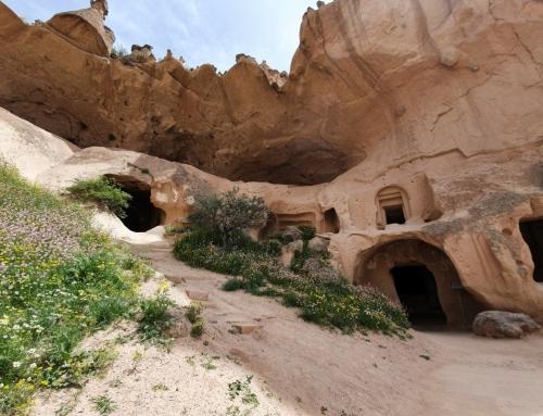 Zelve or a village Cappadocian style