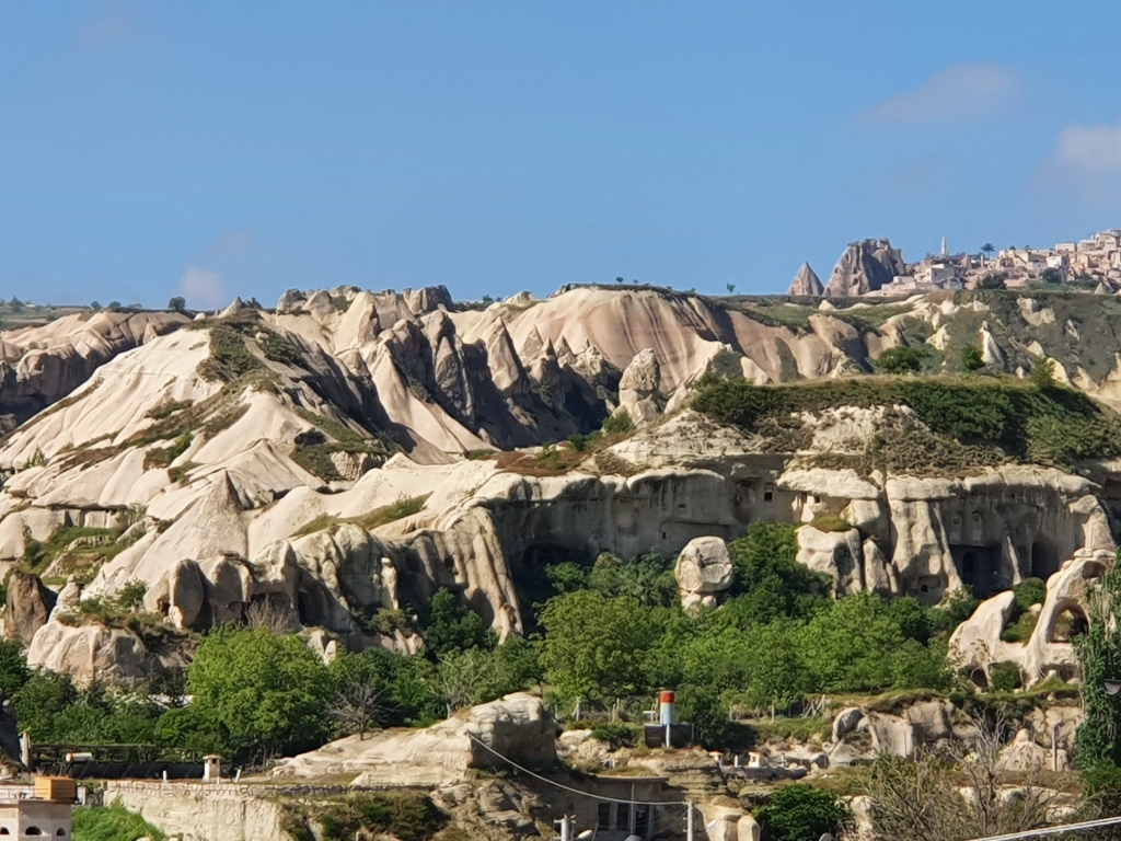 A farewell view of Goreme