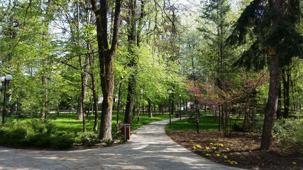 Gotse Delchev - the city park