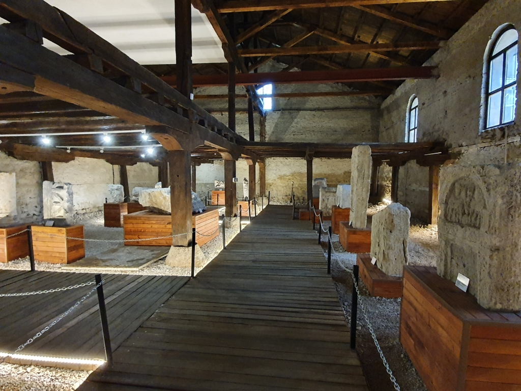 Лапидариумът към Регионалния музей във Видин