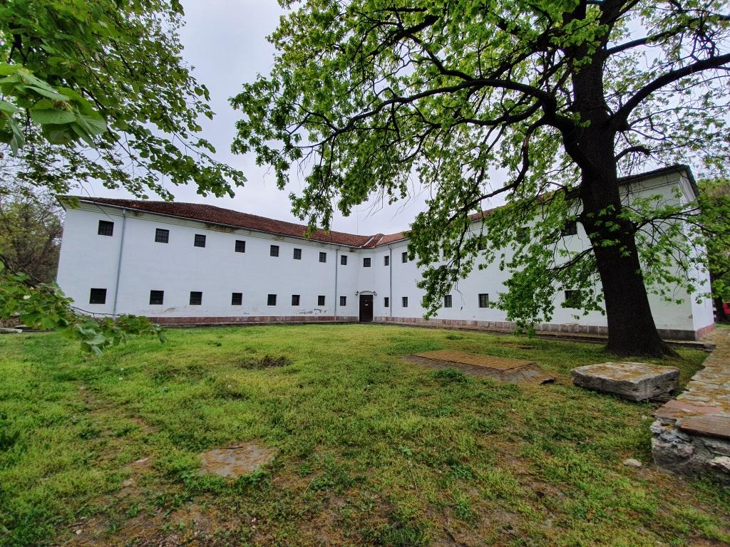 На музей във Видин - Кръстатата казарма
