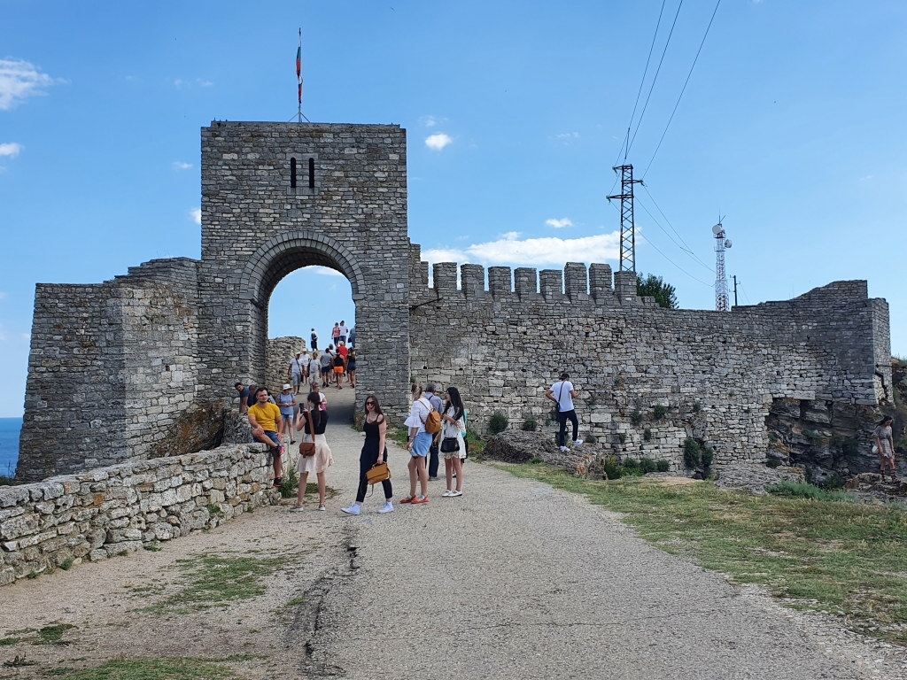 The gate to Kaliakra Fortress